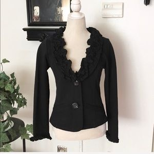 Nick & Mo Boutique Black Blazer Jacket